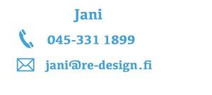 R&E-Design - Jani - Ollaan yhteydessä!